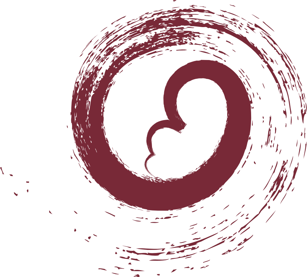 our birth journey swirl logo